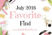 Favorite Finds (Shop Style) / Updated monthly, favorite looks, brands, designs and products.