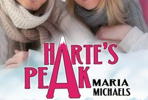 Harte's Peak / Vera Carrington loves her newly renovated home and her cafe, The Bean, but with a balloon mortgage looming over head and a man from her past ready to bounce on her misfortune, she may have to face the agonizing decision of keeping one and selling the other. http://www.amazon.com/Hartes-Peak-Maria-Michaels-ebook/dp/B00L4NTEVS/ref=sr_1_1?ie=UTF8&qid=1404683847&sr=8-1&keywords=harte%27s+peak