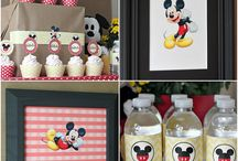 Mickey - Minnie Mouse Party Ideas