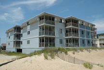 Admirals View II Condos / These condominiums are Oceanfront in Kill Devil Hills.  All are 2 Bedrooms- 2 Baths.  Milepost 7.5 / by Joe Lamb, Jr.