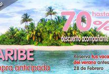 Campañas publicitarias Triana Viajes / Podrás conocer todas nuestras campañas publicitarias de Triana Viajes.