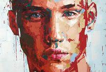 Portré festészet