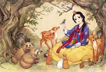 Hanbok illustration / Hanbok illustration,  Hanbok