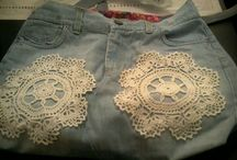 Art Jeans / A couple of recycled jeans