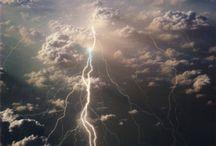 날씨 번개 태풍