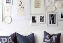 Gallery Wall / by Amanda Niederhauser/Jedi Craft Girl