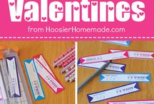 Valentine's Day - DIY Valentines / Make your own Valentine's for the loved ones in your life.