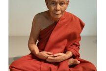 Levensechte monniken / Thaise levensechte monniken. Verkrijgbaar via Boeddhacentre.nl.