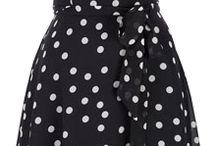 Baa's polka dot dress