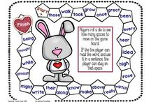 English - Valentine's, Spring and Easter