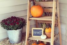 Fall front porch / by Lori Garcia