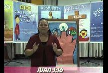 Evangelismo y enseñanza bíblica niños