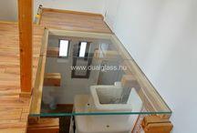 Járható üveg, walkable glass