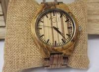 Mens wood watches / Be one with nature with Eco friendly watches, watches are made from bamboo and wood. All  watches are handmade from order which can take up to 4 weeks to make. You won't be disappointed with the outcome with every watch unique and guaranteed to be a conversation starter.