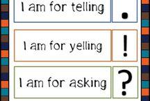 Grammar rules / Grade 4