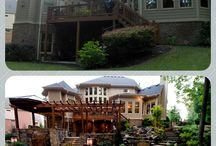 Lawn Landscapes / Before and after landscaping projects, outdoor living
