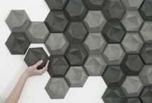 Everything Hexagon / Hexagon is one of my favorite shapes. It is found everywhere in nature. It is perfect for an efficient use of space. It is used in construction because of its strength
