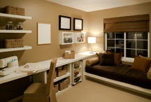 Sewing Room Ideas / by Hope Ramsay