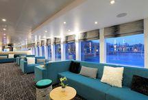 Références Balsan : Bateaux / Balsan habille les hôtels, les bureaux, mais aussi les bateaux. Découvrez comment Balsan utilise ses différentes collections de moquettes pour séparer les espaces et s'adapter au design de chaque bateau.