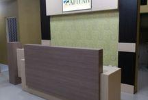 resepsionis klinik afiyah