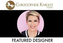 Featured Designer: Amanda Forrest / This week we featured celebrity designer, Amanda Forrest.