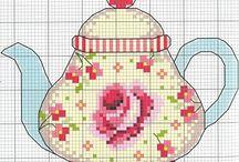 cross stitch - věci