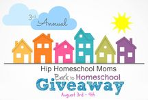 Back to Homeschool Giveaway - 2015 / by Hip Homeschool Moms