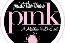 Paint the Town Pink / Paint the Town Pink is a community-wide effort to raise awareness of the importance of annual mammography.  http://www.paintthetownpink.com/about For Mom