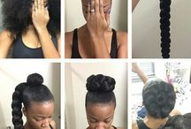 Afro...Up do