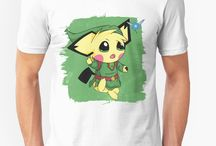 Video Games T-shirts / Everything you ever wished for, from Legend of Zelda t-shirts to Pokemon and Metroid and Super Mario!