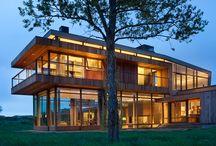 Contemporary Ranch Home / (c) Gibeon Photography