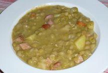 Suppen / Erbsensuppe