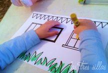 Casitas para pájaros / Taller - Workshop / Do it yourself de cómo hacer una casita para pájaros. Si quieres ver el proceso completo, consulta nuestro blog http://lastressillas.com/taller-en-valencia-de-casitas-para-pajaros/