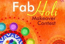 Splash Color - It's Holi! / Dip your decor in festive hues this Holi!