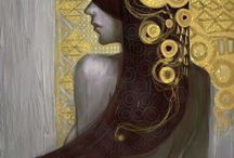 Design by Gustav Klimt