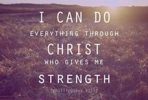 My words of  strength and  Encouragement