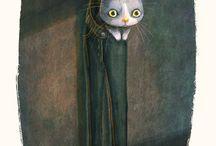 Arty Kitty / by Caroline Sellier