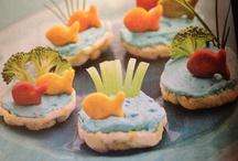 Fun snacks for kiddos!! / by Adrianne Baker