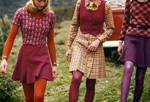 1970s fashion, style, decor