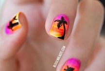 Nail Art.. / This is what I want done to my nails.. Someday,.