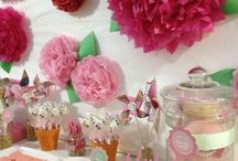 Girl Party ideas / by Carrie Barron