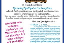 Friday August 14th pARTy with us at MAA 5-730PM / Come on and join us for a spotlight reception for William C Lewis and learn more about promoting art sales with social media