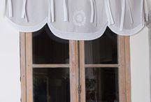 CANTONNIERES / Cantonnières et décors de fenêtres rétro