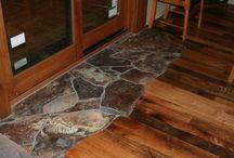 Pavimento legno pietra
