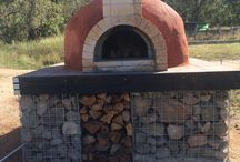 Fire places, bar-b-q and pizza ovens