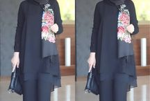 Dress santai Hijab