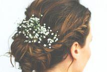 Wedding / idées coiffure + beauté