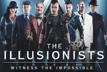 The Illusionists / This mind blowing spectacular showcases the jaw dropping talents of seven of the most incredible illusionists on earth.  THE ILLUSIONISTS – Witness the Impossible has shattered box office records across the globe and dazzles audiences of all ages with a powerful mix of the most outrageous and astonishing acts ever to be seen on stage.  This non-stop show is packed with thrilling and sophisticated magic of unprecedented proportions. Brought to you by Alchemy Project