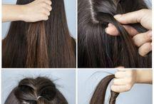 Penteado fácil