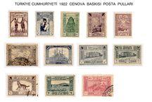 1922 CENOVA BASKISI POSTA PULLARI / PUL KOLLEKSİYONCULUĞU